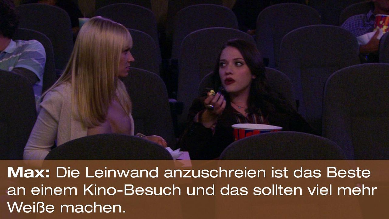 2-broke-girls-zitat-staffel2-episode3-gelbe-gefahr-max-leinwand-warnerpng 1600 x 900 - Bildquelle: Warner Brothers Entertainment Inc.