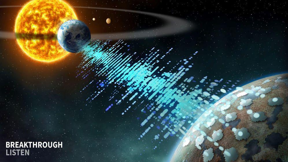 - Bildquelle: Breakthrough Listen/UC Berkeley/dpa
