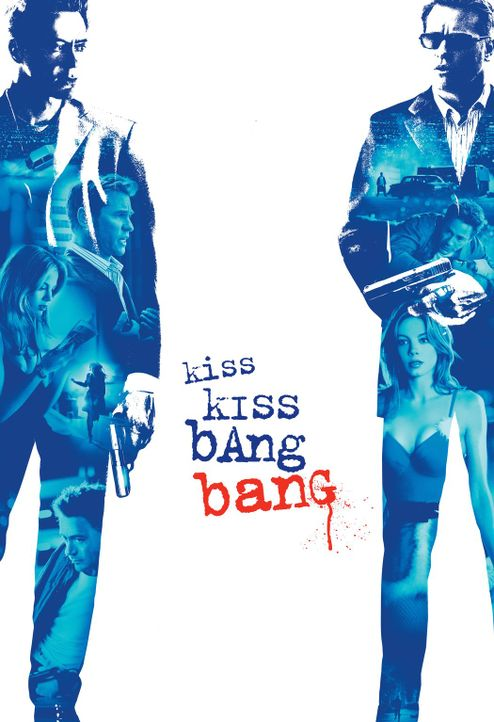 KISS KISS BANG BANG - Artwork - Bildquelle: 2015   Warner Brothers