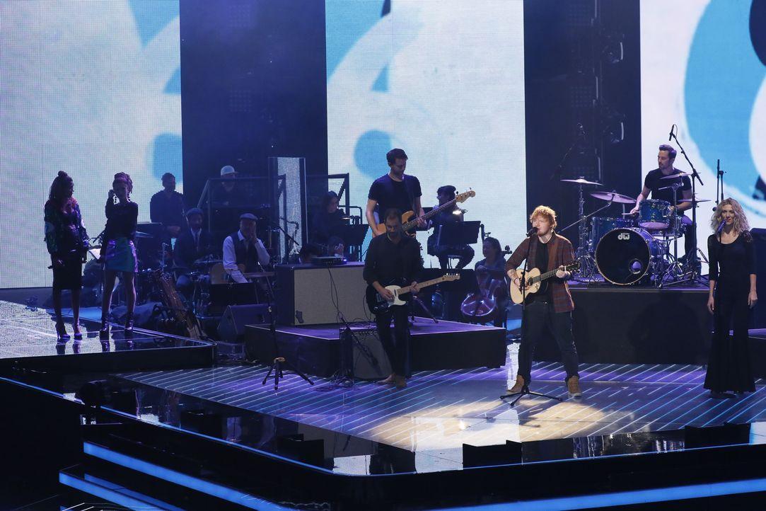 Ed Sheeran - Bildquelle: SAT.1/ProSieben/Richard Hübner
