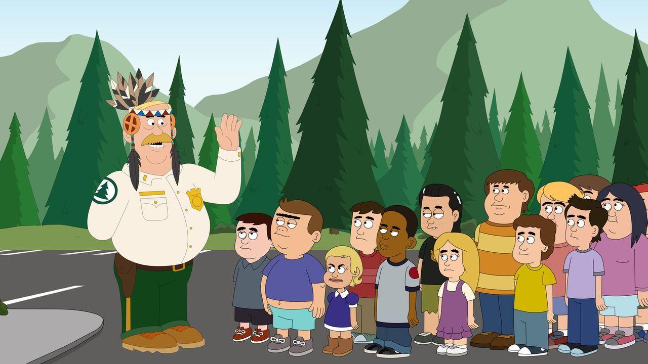 Geld muss her:Darum soll Brickleberry als Camp für Kinder geöffnet werden. Doch Woody (l.) bereut seine Idee schon bald ... - Bildquelle: 2014 Twentieth Century Fox Film Corporation and Comedy Partners.  All rights reserved.