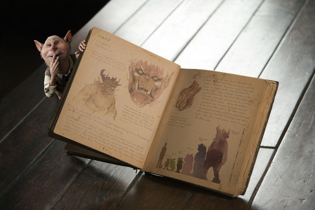 """Das Wichtelmännchen Thimbletack weiß, dass das """"Handbuch der magischen Geschöpfe"""" Auslöser für jede Menge Ärger sein wird ... - Bildquelle: Paramount Pictures"""