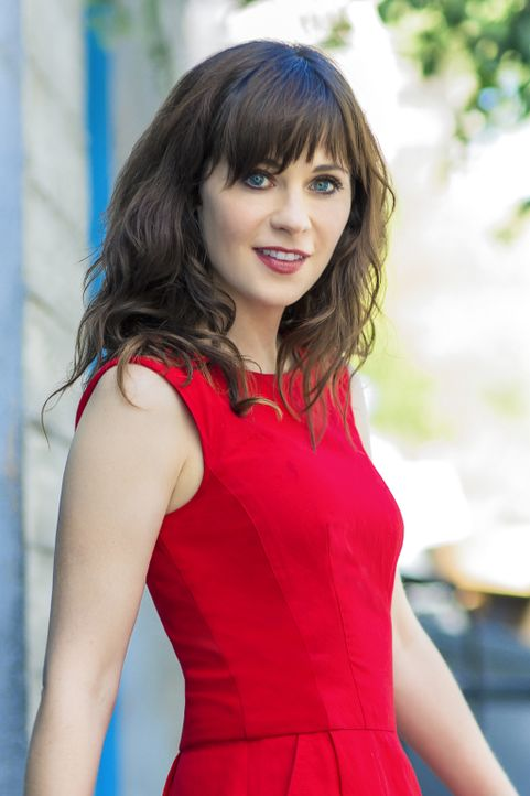 (4. Staffel) - Bringt sich und ihre Mitbewohner immer wieder in die komischsten Situationen: Jess (Zooey Deschanel) ... - Bildquelle: 2014 Twentieth Century Fox Film Corporation. All rights reserved.