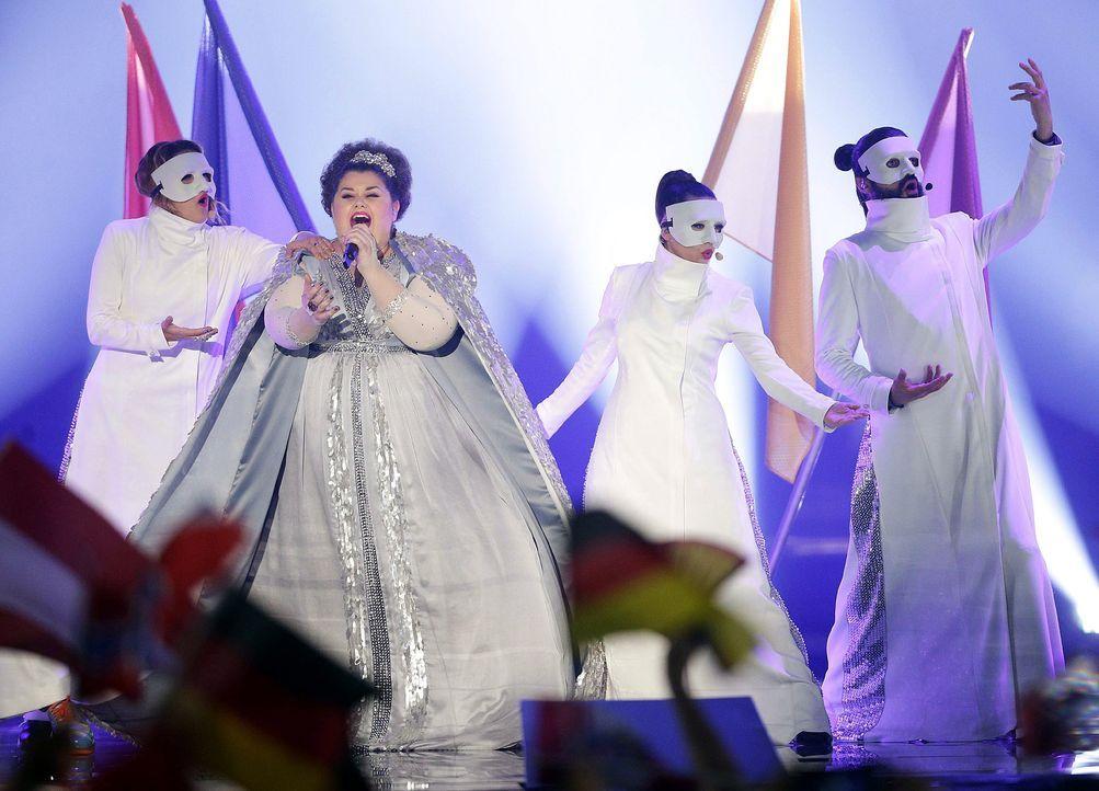 European-Song-Contest-ESC-Bojana-Stamenov-150523-dpa - Bildquelle: dpa