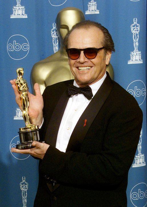Bester-Hauptdarsteller-1998-Jack-Nicholson-AFP - Bildquelle: AFP