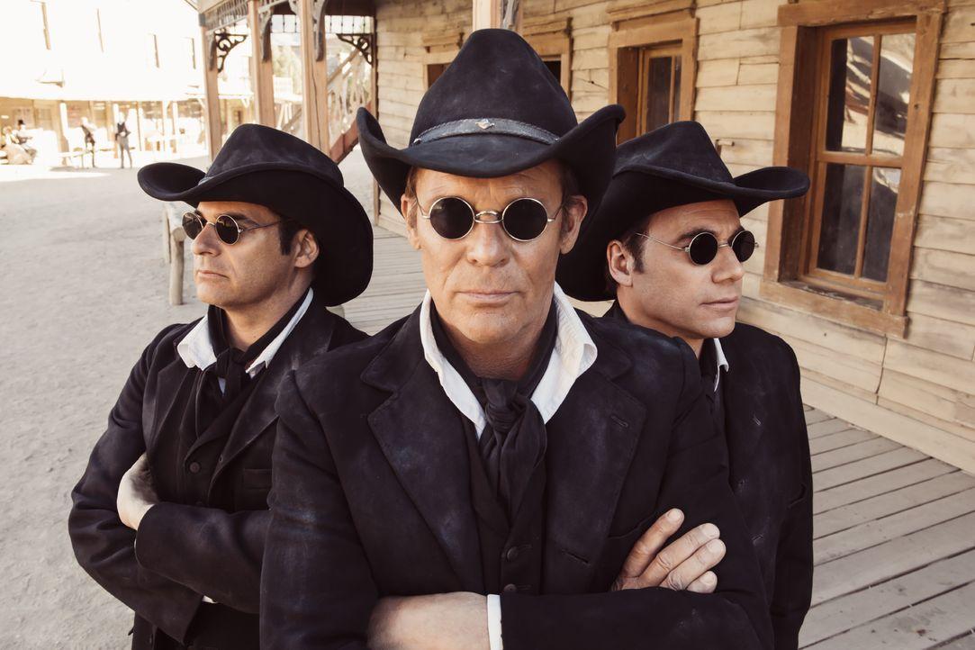"(v.l.n.r.) Kastagnette 3 (Rick Kavanian); Kastagnette 2 (Christian Tramitz); Kastagnette 1 (Michael ""Bully"" Herbig) - Bildquelle: Marco Nagel Warner Bros. / Marco Nagel"