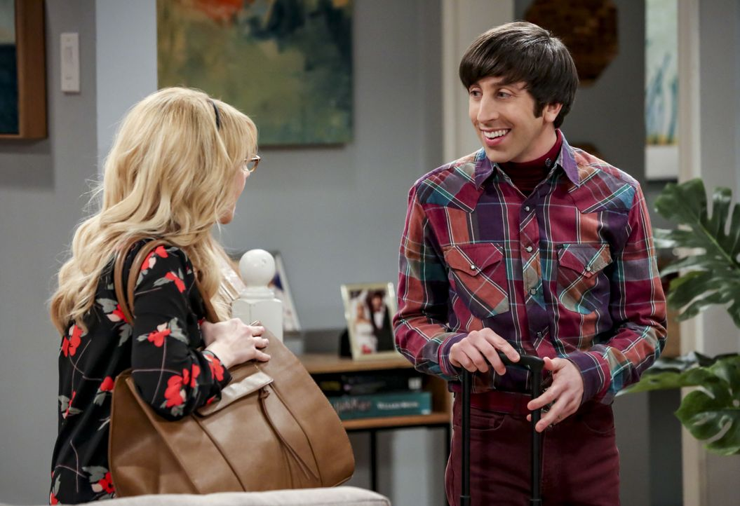 Bernadette (Melissa Rauch, l.); Howard Wolowitz (Simon Helberg, r.) - Bildquelle: Michael Yarish 2019 WBEI. All rights reserved. / Michael Yarish