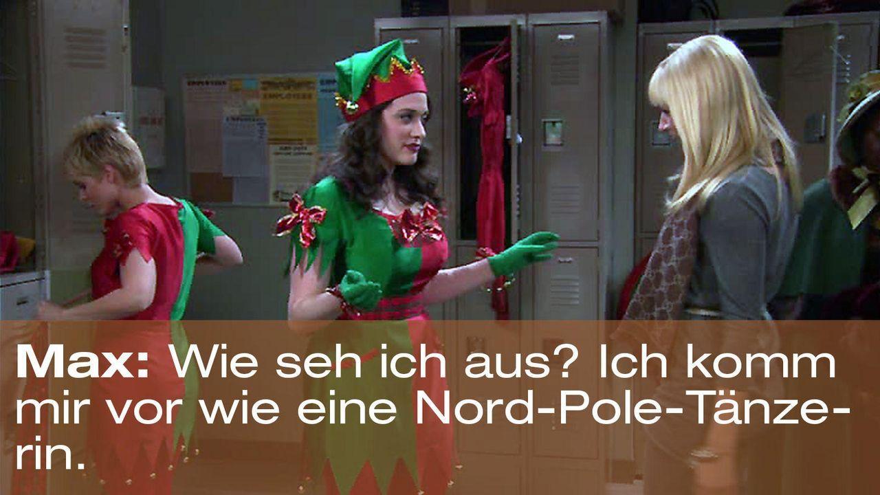 2-broke-girls-zitat-episode-12-elfen-terror-nord-pole-taenzerin-warnerjpg 1600 x 900 - Bildquelle: Warner Brothers Entertainment Inc.
