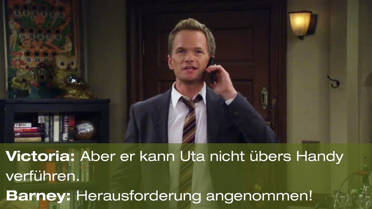how-i-met-your-mother-zitat-quote-staffel-8-episode-1-farhampton-barney-herausforderung-foxpng 1600 x 900 - Bildquelle: 20th Century Fox