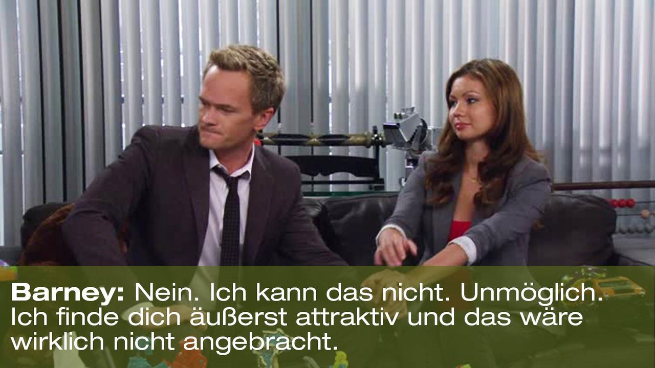 how-i-met-your-mother-zitat-quote-staffel-8-episode-3-nannies-super-nanny-6-barney-foxpng 1600 x 900 - Bildquelle: 20th Century Fox