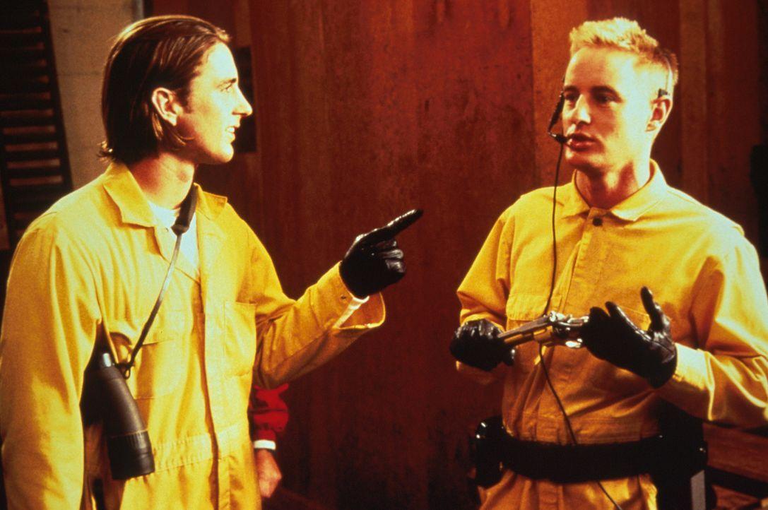 Gute Vorbereitung ist der halbe Coup: Anthony (Luke Wilson, l.) und Dignan (Owen C. Wilson, r.) ... - Bildquelle: Columbia Pictures