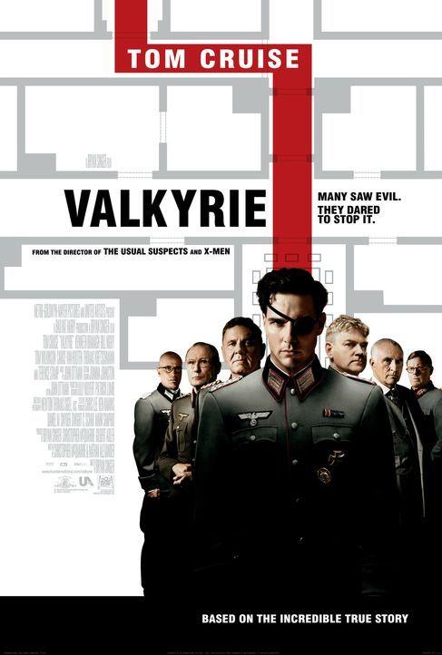 OPERATION WALKÜRE - DAS STAUFFENBERG ATTENTAT - Plakatmotiv - Bildquelle: 2008 Metro-Goldwyn-Mayer Studios Inc.