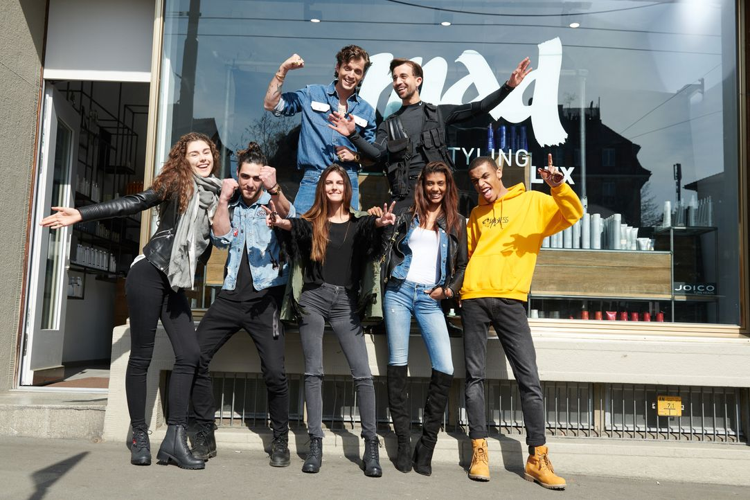 01_Team Dandy Diary Kopie - Bildquelle: ProSieben Schweiz