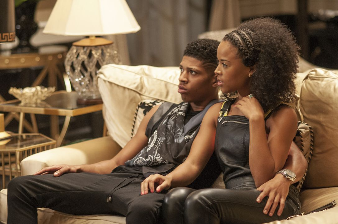 Hoffen, durch ihren gemeinsamen Auftritt den großen Durchbruch zu erreichen: Hakeem (Bryshere Y. Gray, r.) und Tiana (Serayah McNeill, r.) ... - Bildquelle: 2015 Fox and its related entities.  All rights reserved.