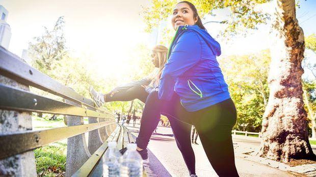 Sport hilft – und zwar auch gegen Dehnungsstreifen
