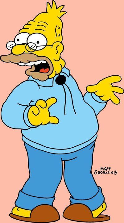 (17. Staffel) - Grandpa Simpson spielt eine große Rolle im chaotischen Familien-Clan ... - Bildquelle: und TM Twentieth Century Fox Film Corporation - Alle Rechte vorbehalten