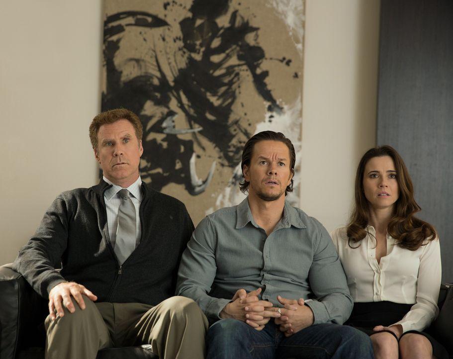 Wird sich Sara (Linda Cardellini, r.) womöglich wieder auf ihren Ex-Mann Dusty (Mark Wahlberg, M.) einlassen und ihren neuen Ehmann Brad (Will Ferre... - Bildquelle: (2017) Paramount Pictures.