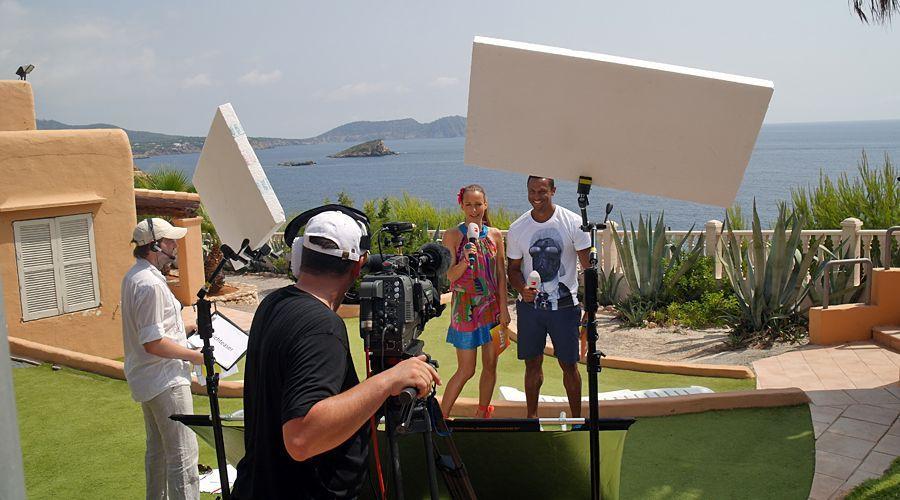 taff sendet aus Ibiza