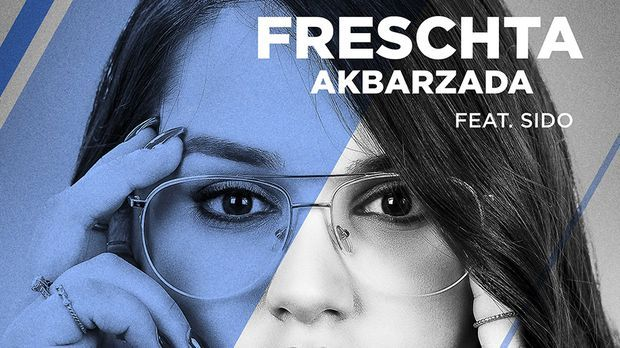 Freschta auf dem Cover ihrer Single mit Sido