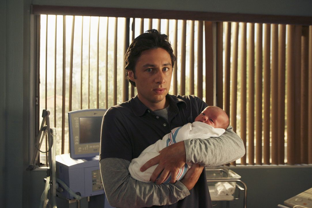 Obwohl er große Bedenken hat, entscheidet sich J.D. (Zach Braff) für seinen Sohn ... - Bildquelle: Touchstone Television
