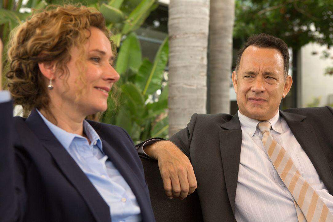 Alan (Tom Hanks, r.) - Bildquelle: Siffedine Elamine Oberon Film GmbH / Siffedine Elamine