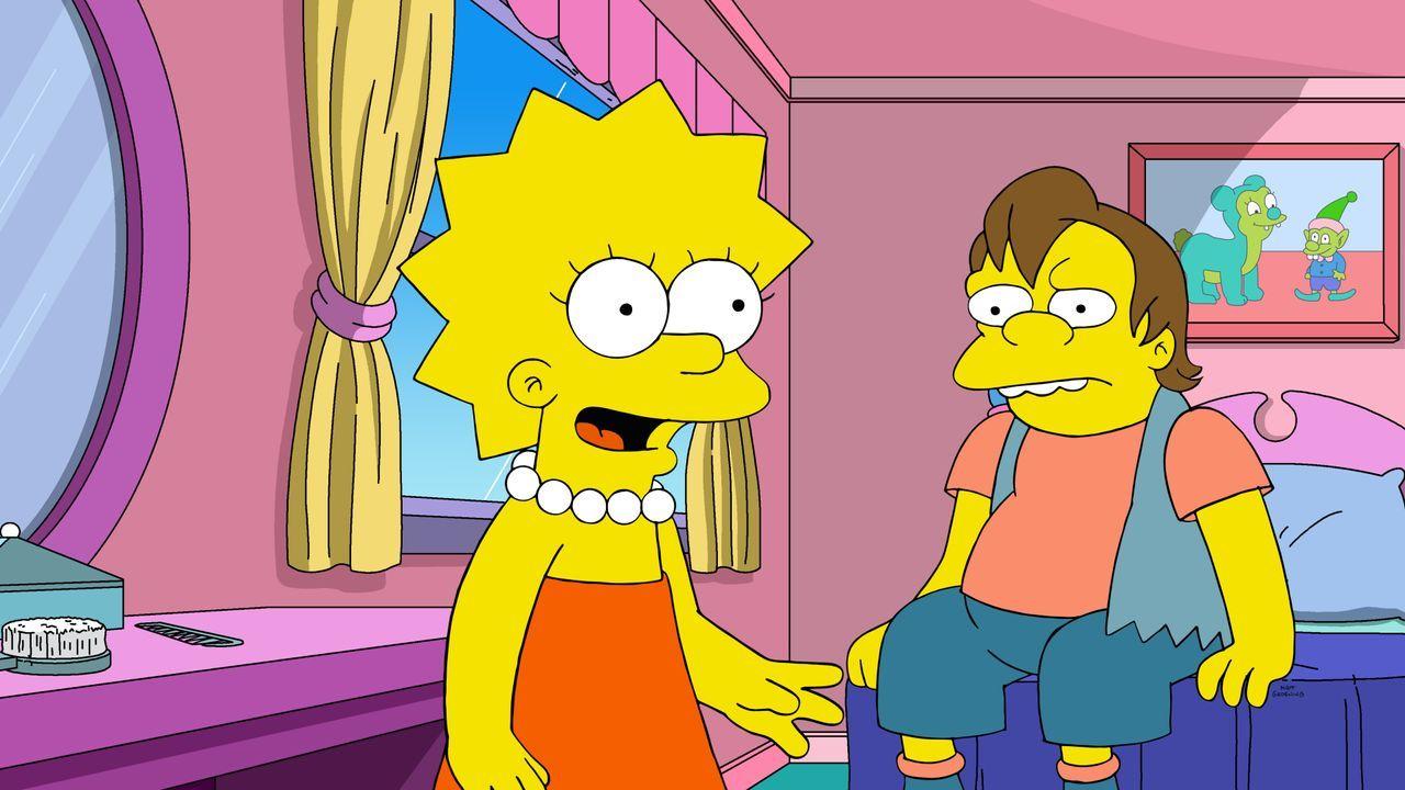 Lisa (l.); Nelson (r.) - Bildquelle: 2020 by Twentieth Century Fox Film Corporation.