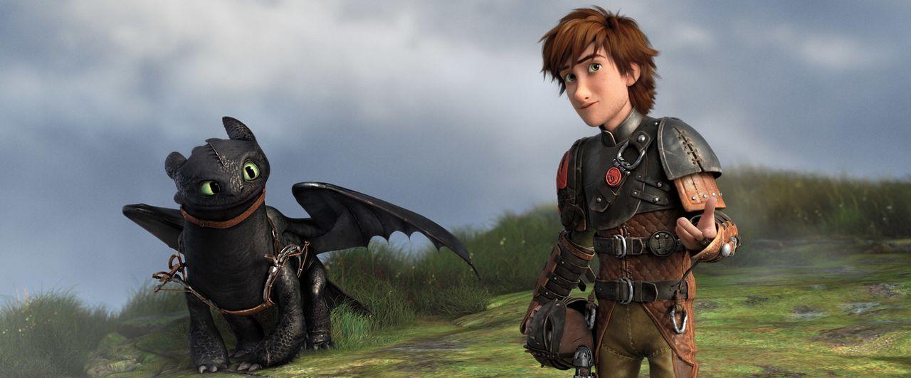 Der grausame Wikinger Drago Blutfaust will eine Drachenarmee aufstellen und sich dafür auch die Drachen der Wikinger auf der Insel Berk einverleiben... - Bildquelle: 2014 DreamWorks Animation, L.L.C.  All rights reserved.