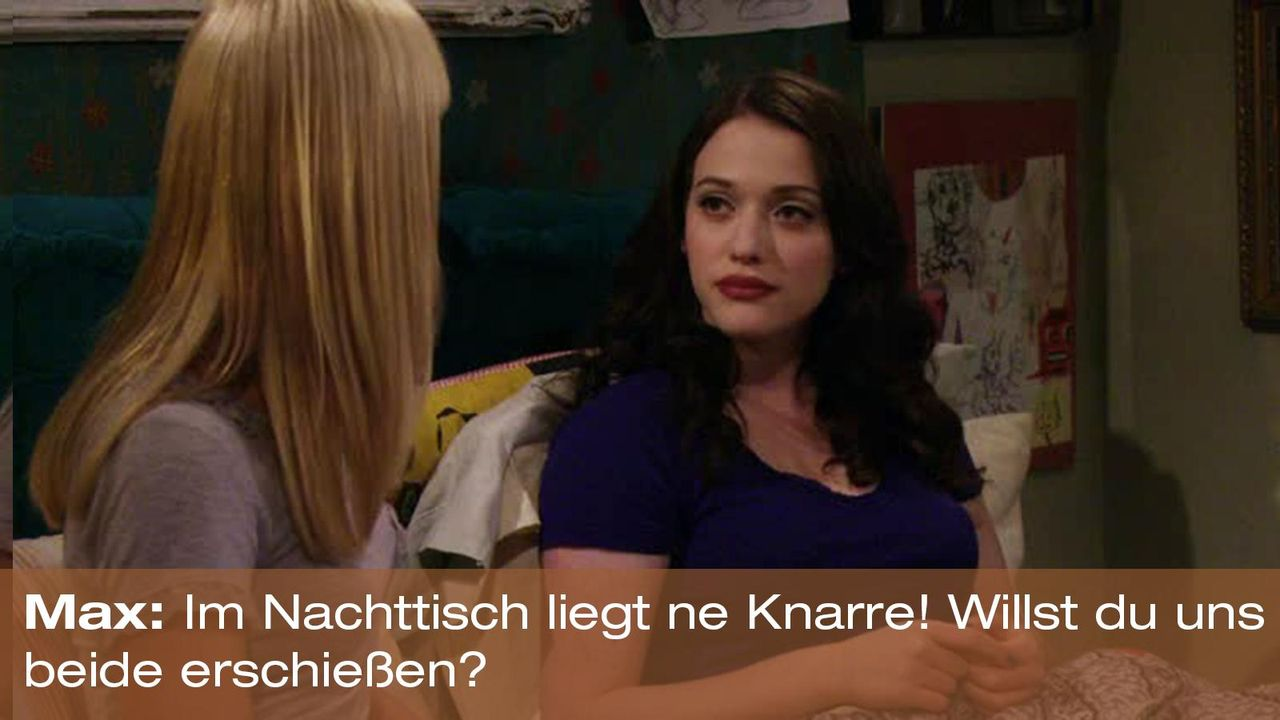 2-broke-girls-zitat-quote-staffel2-episode4-cupcake-wars-max-knarre-warnerpng 1600 x 900 - Bildquelle: Warner Brothers Entertainment Inc.