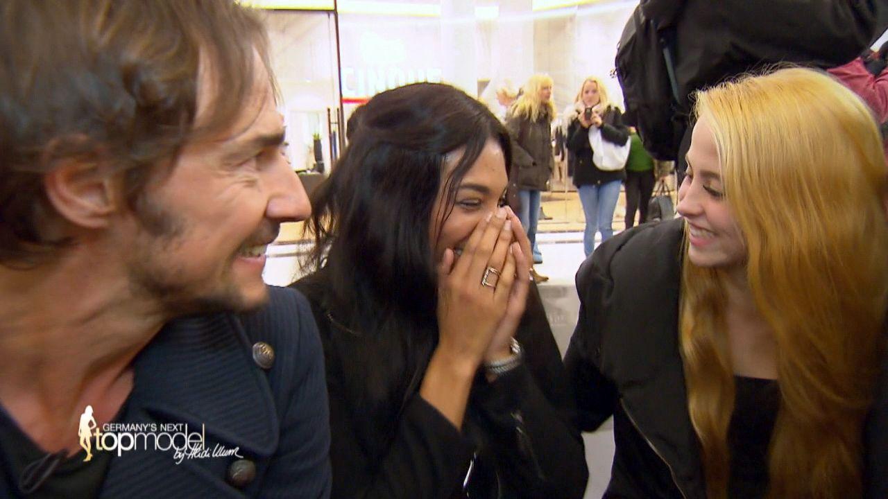 GNTM-10-Sendung01_019 - Bildquelle: ProSieben
