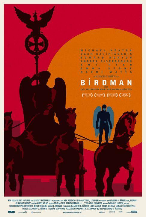 Birdman-Plakat-Berlin-20th-Century-Fox - Bildquelle: TWENTIETH CENTURY FOX