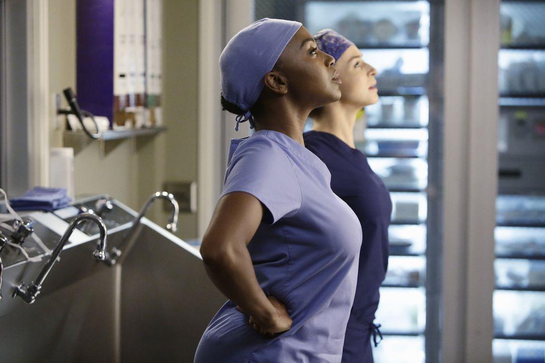 Bereiten sich auf die Operation von Dr. Herman vor: Amelia (Caterina Scorsone, r.) und Stephanie (Jerrika Hinton, l.). Werden sie die schwierige OP... - Bildquelle: ABC Studios