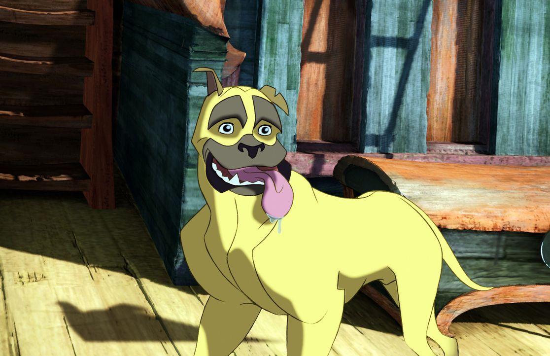 Als es an Bord von Sinbads Schiff zu einer Meuterei kommt, wechselt sogar sein treuer Hund Spike die Seiten ... - Bildquelle: DreamWorks SKG