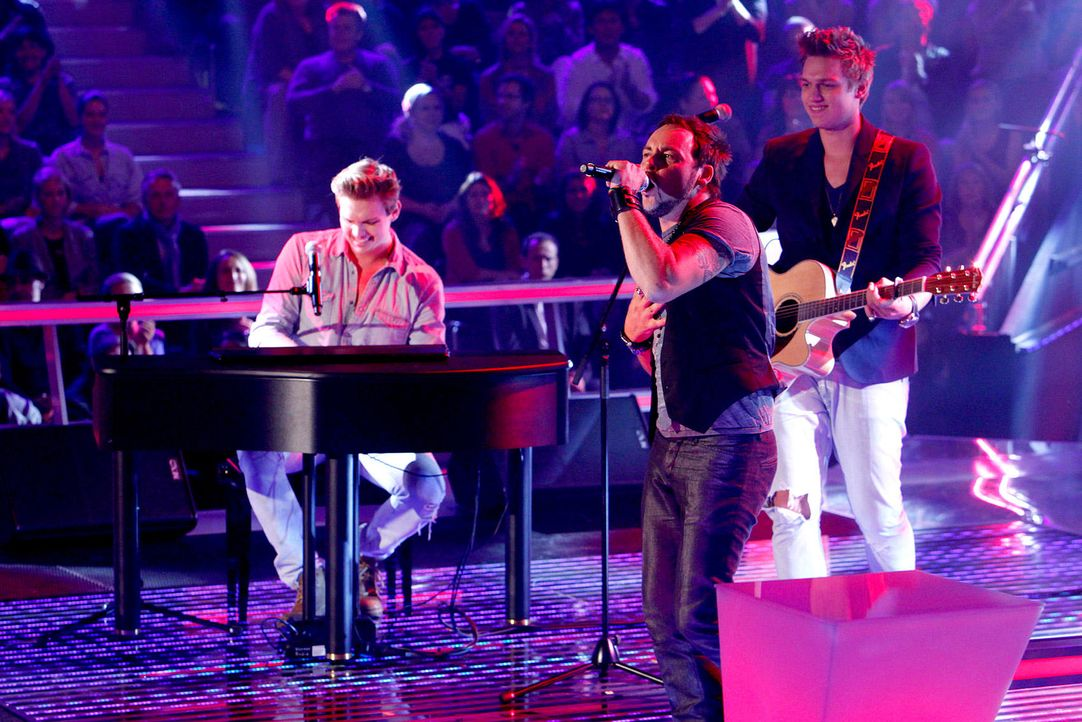 battle-rob-brueder-hain-05-the-voice-of-germany-richard-huebnerjpg 1700 x 1134 - Bildquelle: SAT.1/ProSieben/Richard Hübner