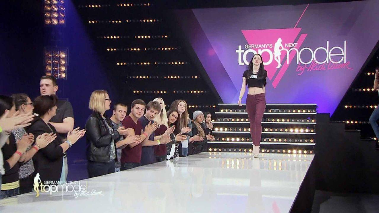 GNTM-10-Sendung02_084 - Bildquelle: ProSieben