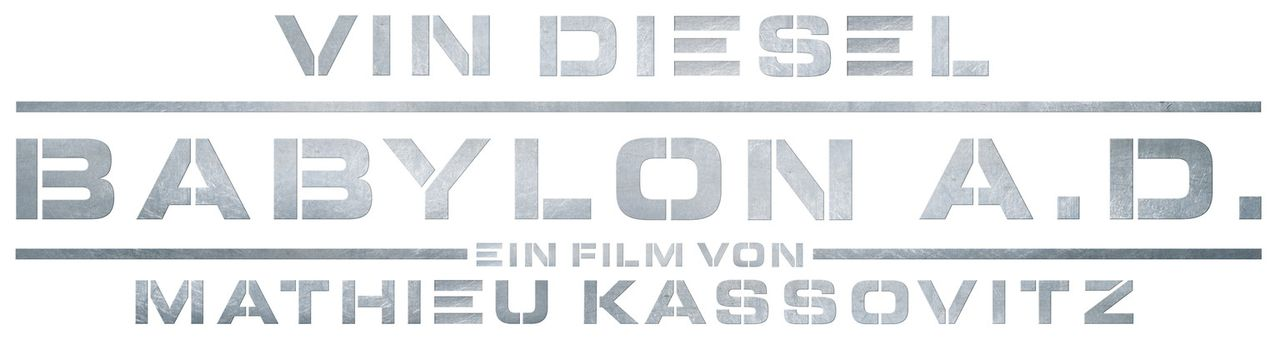 BABYLON A.D. - Logo - Bildquelle: 2008 BABYLON A.D SAS / BABYLON FILMS LIMITED / STUDIOCANAL / M6 FILMS