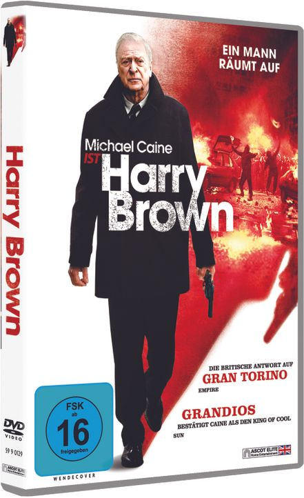 Harry Brown - Cover - Bildquelle: Ascot Elite Home Entertainment GmbH