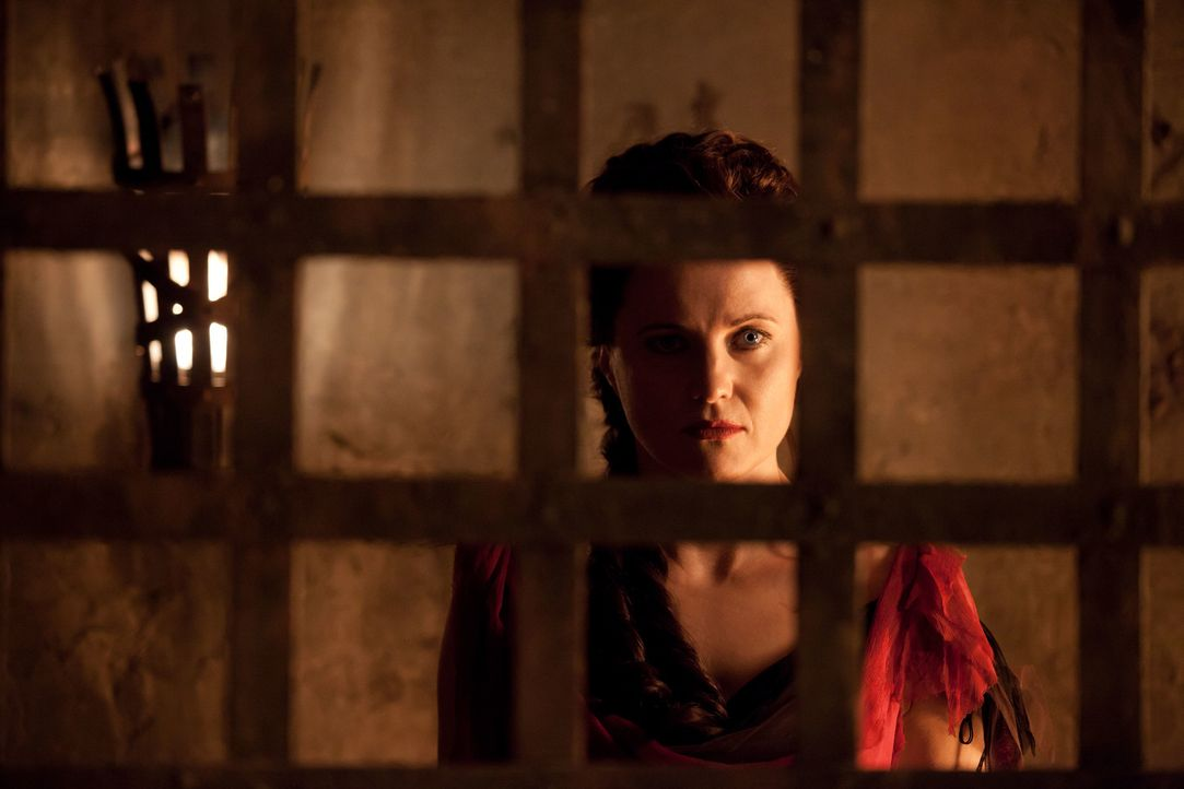 Hat den Sklavenaufstand dank Ashurs Hilfe überlebt: Lucretia (Lucy Lawless) ... - Bildquelle: 2011 Starz Entertainment, LLC. All rights reserved.