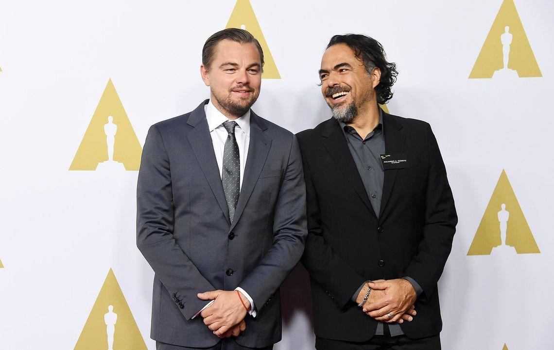 Oscar-Nominees-Luncheon-Leonardo-DiCaprio-Alejandro-G-Inarritu-160208-AFP - Bildquelle: AFP