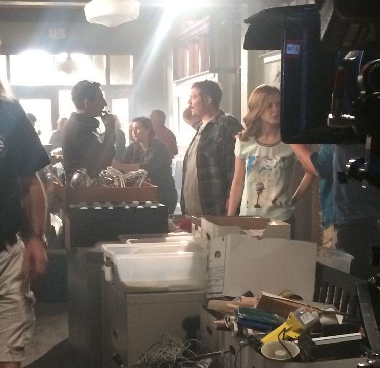 Anweisungen am Set - Bildquelle: CBS