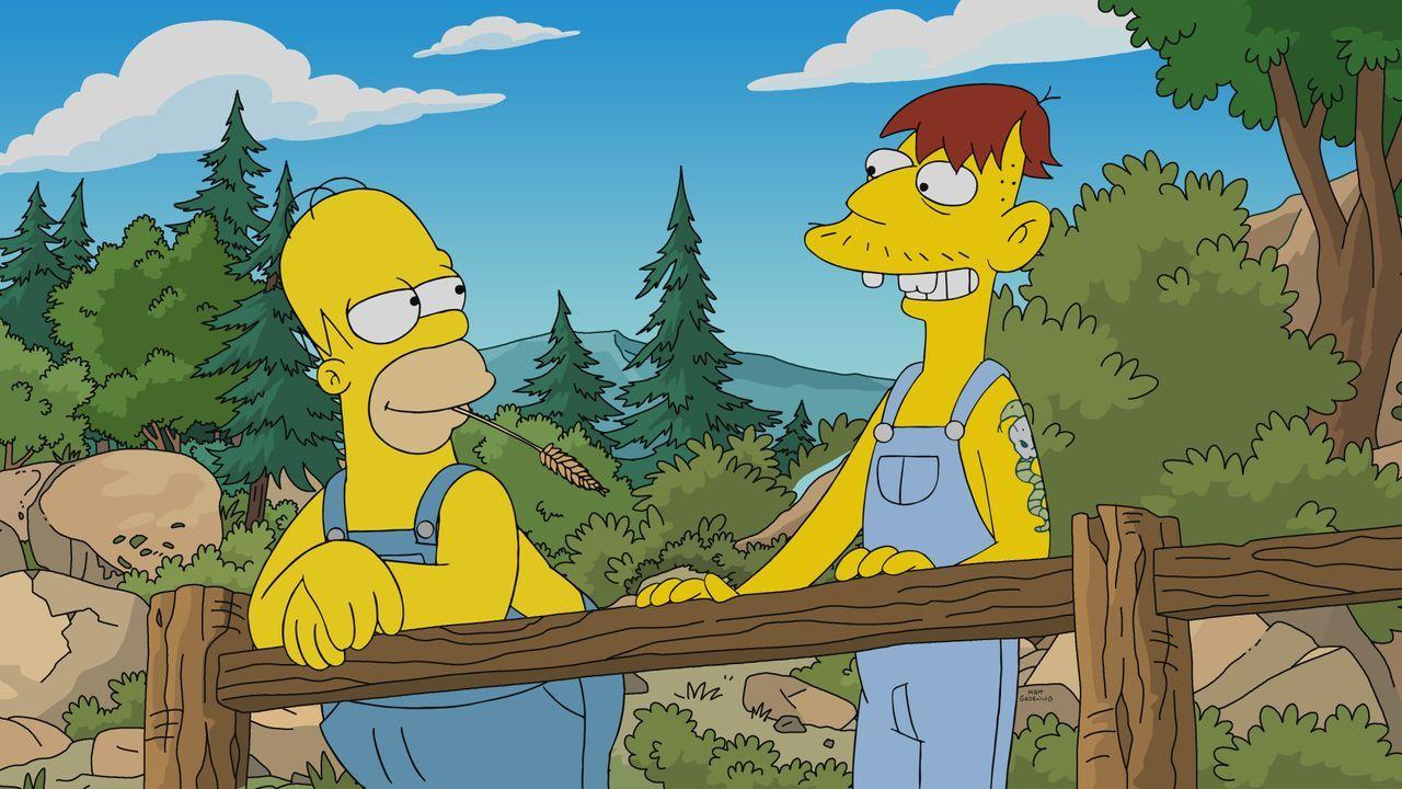 Homer (l.); Cletus (r.) - Bildquelle: 2019-2020 Twentieth Century Fox Film Corporation.  All rights reserved.
