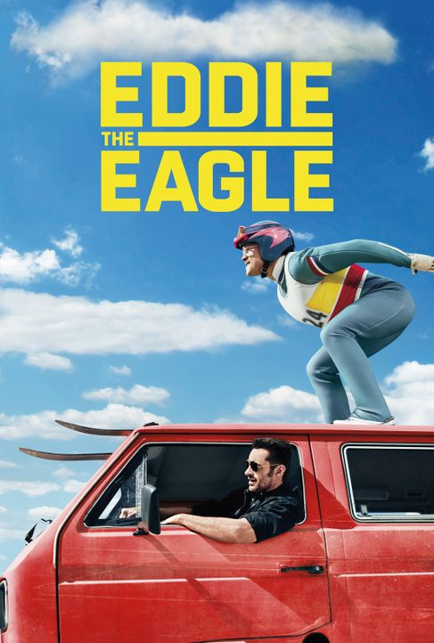 Eddie the Eagle - Alles ist möglich - Artwork - Bildquelle: 2016 Twentieth Century Fox Film Corporation.  All rights reserved.
