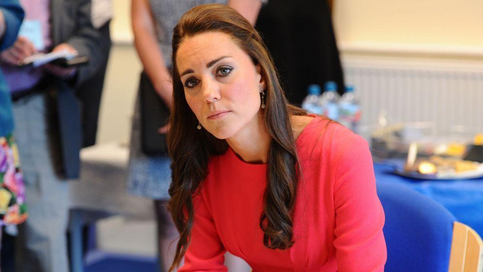 Kate Middleton Hat Probleme Mit Der Frisur Verwuschelt Zum