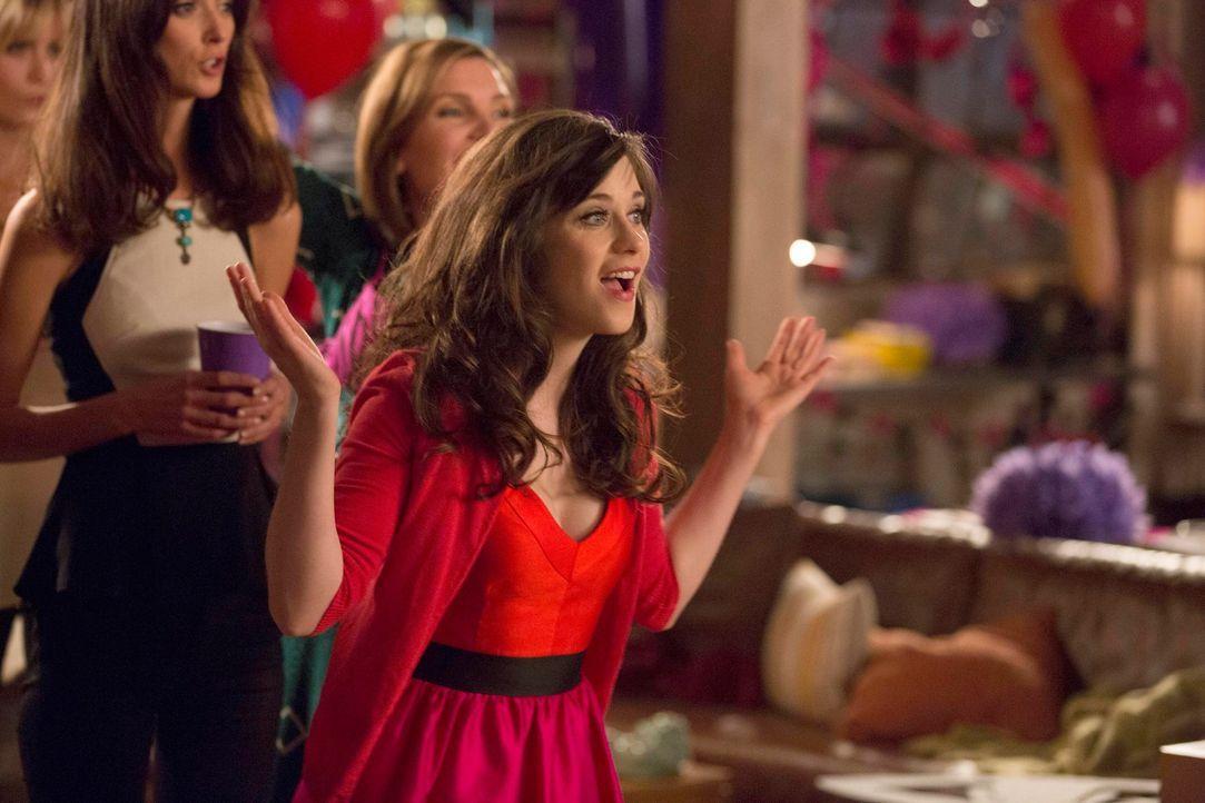Jess (Zooey Deschanel) hat eine Jungesellinnenparty für ihre beste Freundin Cece organisiert, die ihre Freundschaft auf eine harte Probe stellt ... - Bildquelle: 2013 Twentieth Century Fox Film Corporation. All rights reserved