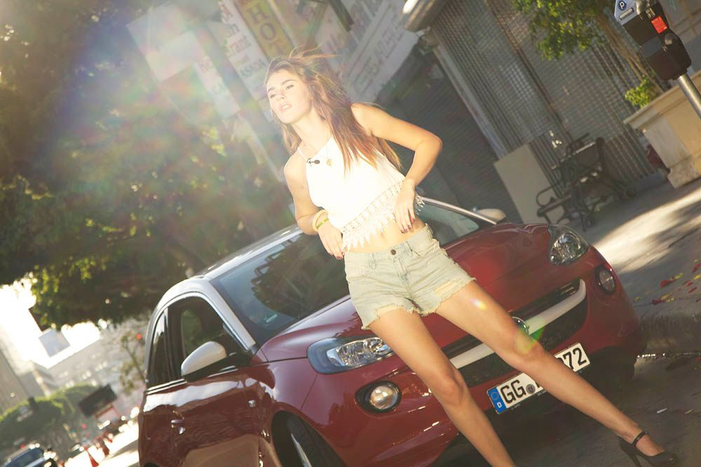 GNTM-Stf09-Epi11-Opel-Casting-050-ProSieben - Bildquelle: ProSieben