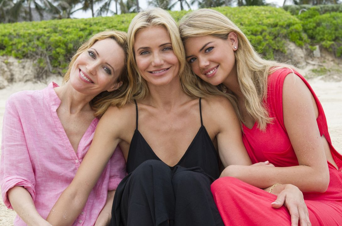 Schwören Rache: Kate (Leslie Mann, l.), Carly (Cameron Diaz, M.) und Amber (Kate Upton, r.) - Bildquelle: Barry Wetcher 2014 Twentieth Century Fox Film Corporation. All rights reserved. / Barry Wetcher