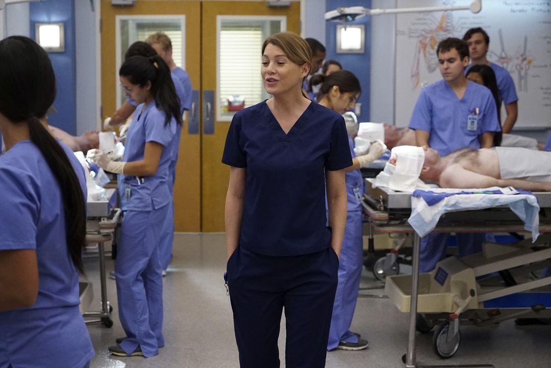 Hält einen Vorbereitungskurs für die Ärzte von morgen: Meredith (Ellen Pompeo, M.) ... - Bildquelle: ABC Studios