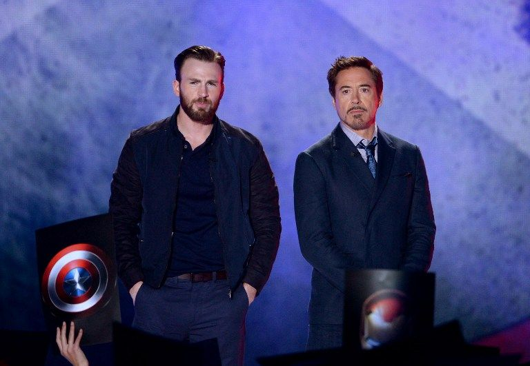 Nickelodeon-15-chris-evans-robert-downey-jr-getty-AFP - Bildquelle: getty-AFP