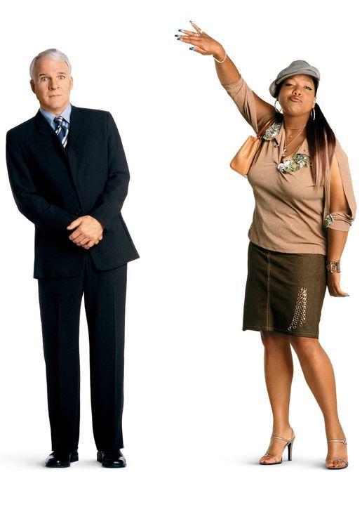 Haus über Kopf mit Steve Martin, l. und Queen Latifah, r. - Bildquelle: Touchstone Pictures