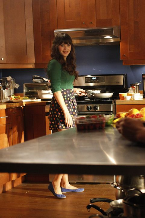 Als Jess (Zooey Deschanel) Cece mit in die WG bringt - herrscht Ausnahmezustand ... - Bildquelle: 20th Century Fox