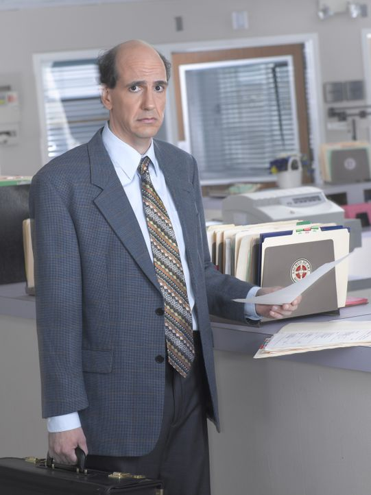 """(6. Staffel) - Theodore """"Ted"""" Buckland (Sam Lloyd), ein suizidgefährdeter und frustrierter Rechtsanwalt ohne Selbstbewusstsein, der sich sehr häufig... - Bildquelle: Touchstone Television"""